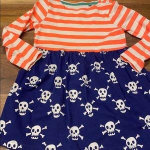 MB 3-4 hopscotch dress pirate skulls